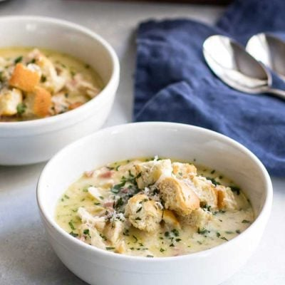 Chicken Cordon Bleu Soup & a Giveaway!