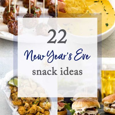 22 New Year's Eve Snack Ideas