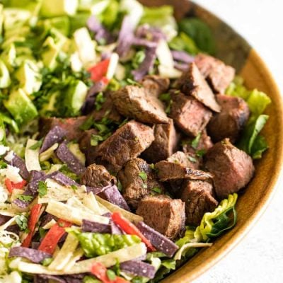 Steak Taco Salad