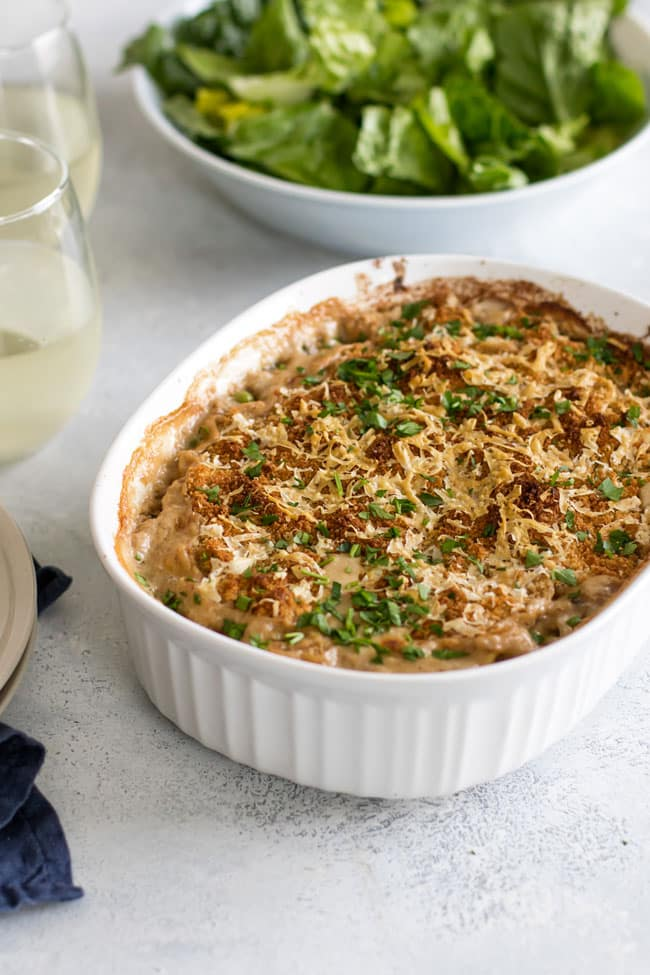 Photo of a tortellini tuna casserole