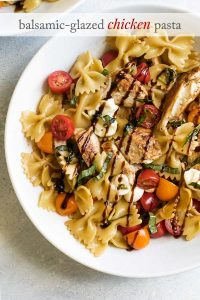 photo of chicken pasta