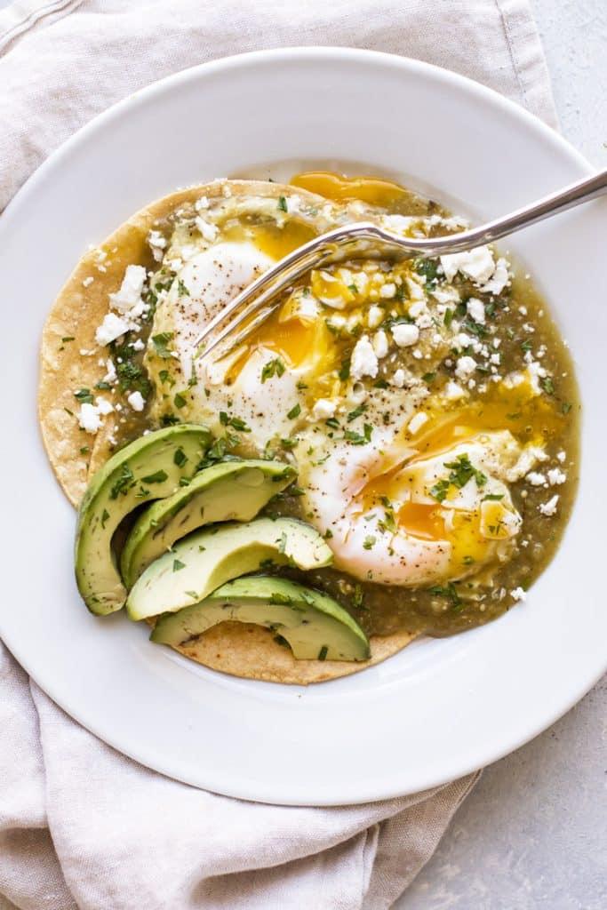 salsa verde eggs