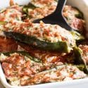 photo of stuffed poblano peppers