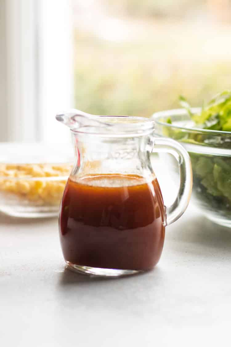 photo of a bottle of dressing