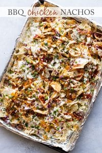 photo of sheet pan nachos