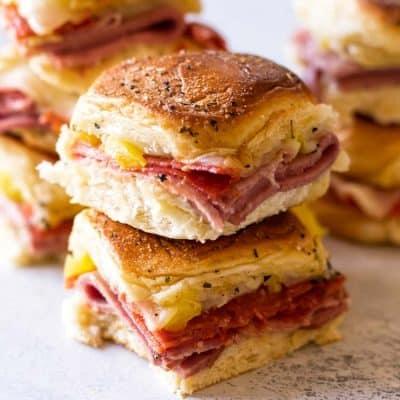 Italian Sandwich Sliders