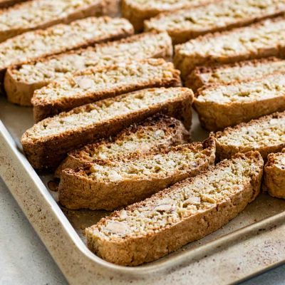 Cantucci (Italian Almond Cookies)