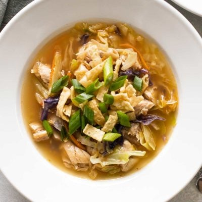 Chicken Egg Roll Soup
