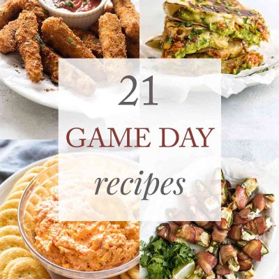 21 Game-Day Recipes