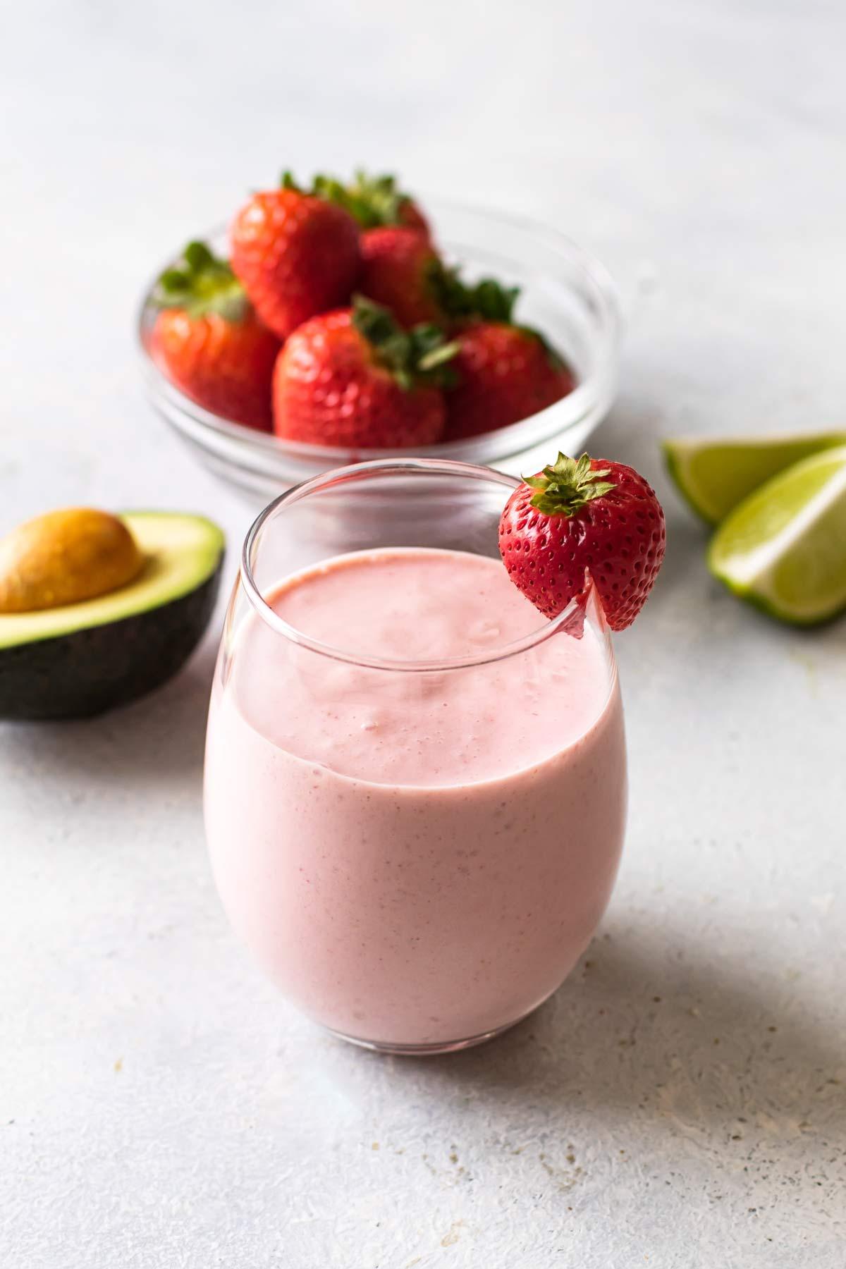 Image result for avocado strawberry smoothie