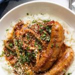 sausage and peppers pinterest image