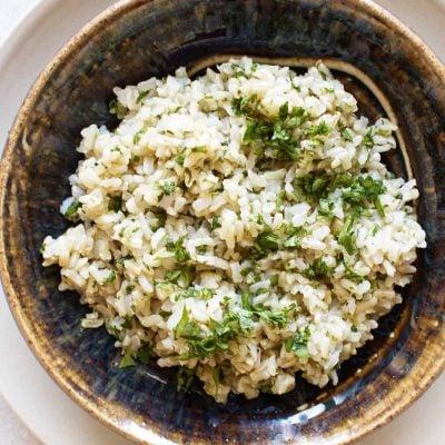 5-Minute Cilantro-Lime Rice