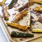 photo of roasted zucchini