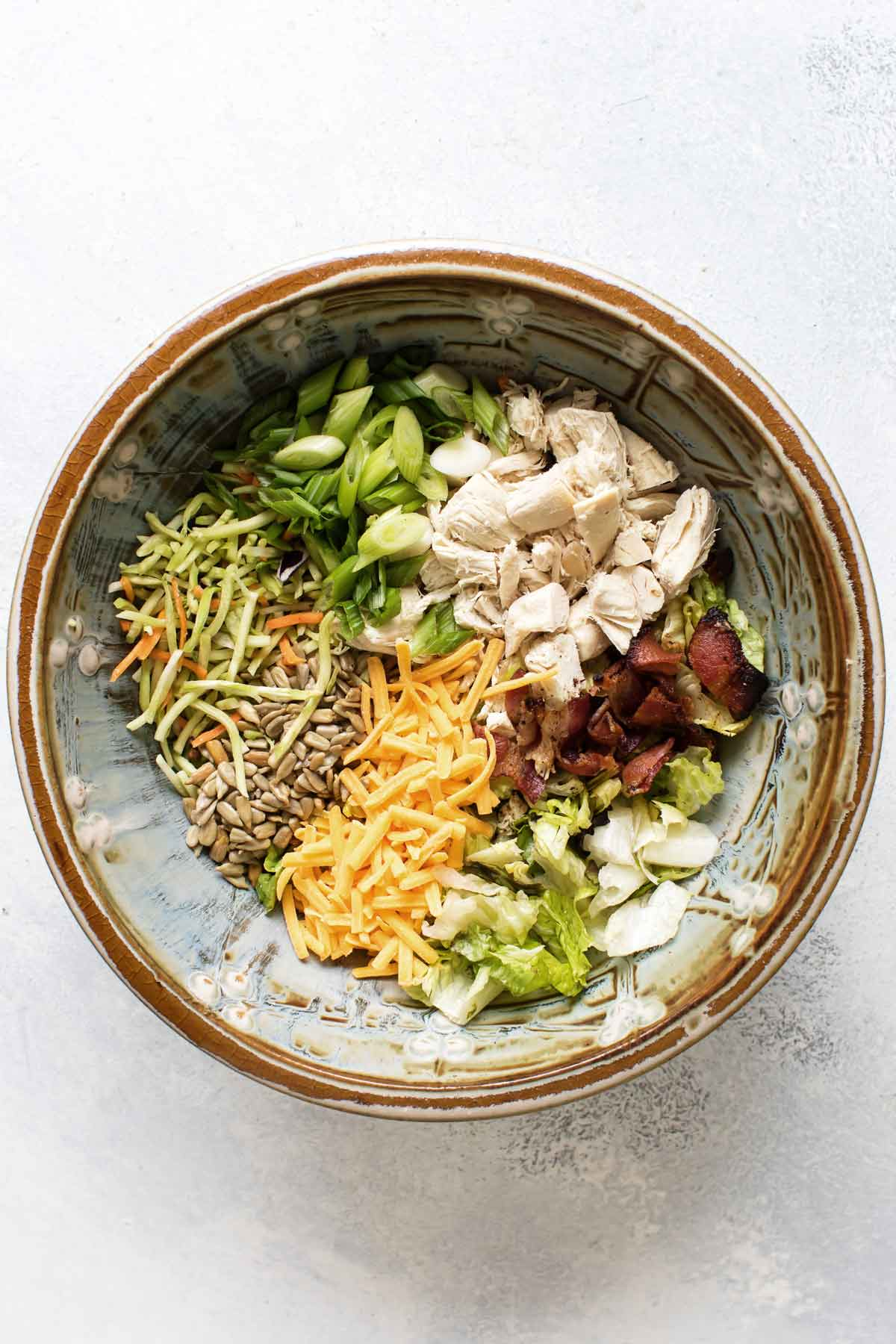 overehad photo of the ingredients in a bowl