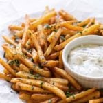 photo of seasoned fries