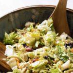 photo of a chopped salad