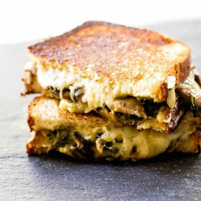 Mushroom Grilled Cheese