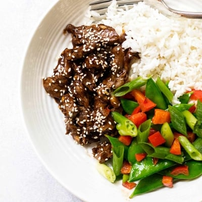 30-Minute Sesame Beef Bowls