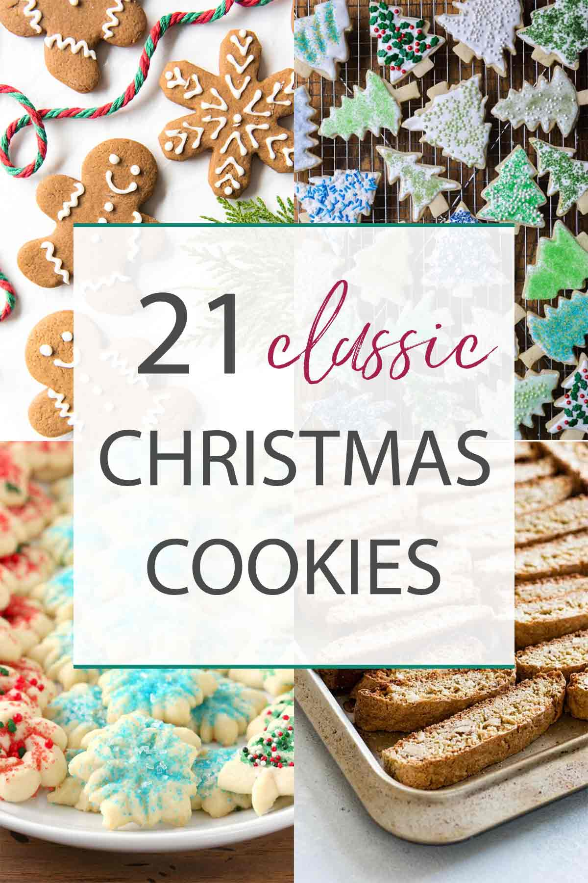 cookies photo collage