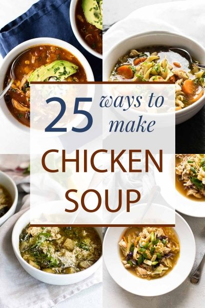 chicken soup photo collage