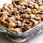 blueberry bagel breakfast