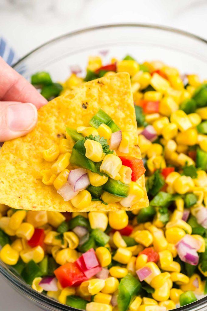 corn salsa.