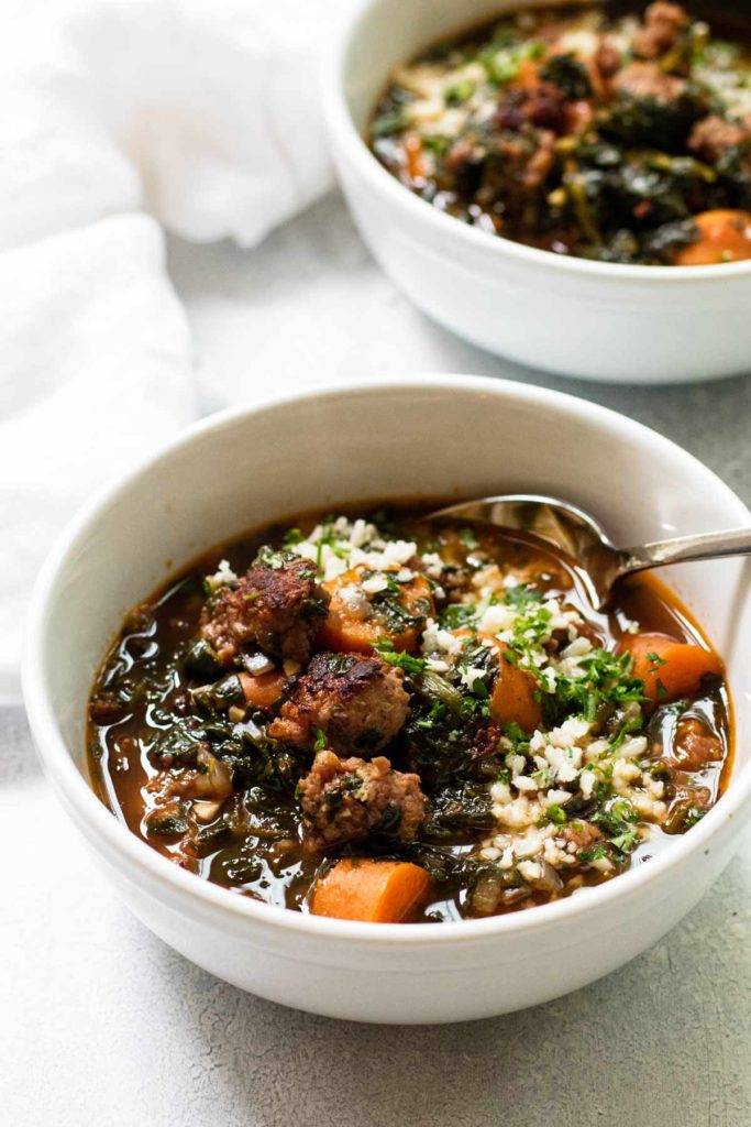 sausage soup.