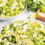 Mexican caesar salad pinterest image.