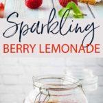 sparkling lemonade pinterest image.