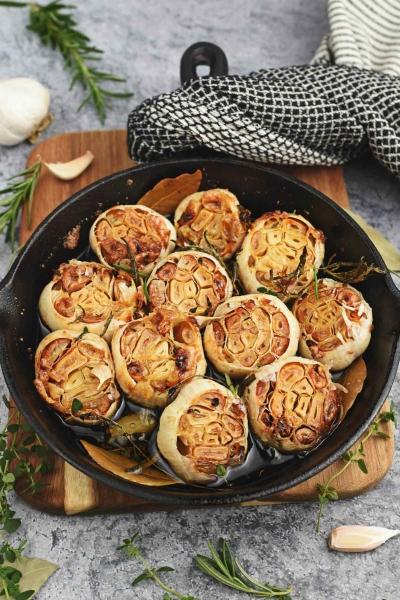 roasted garlic.