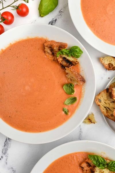 tomato bisque soup.